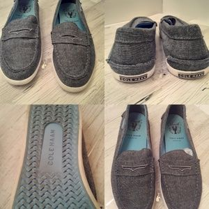 Cole Haan Pitch Weekender Canvas Loafers